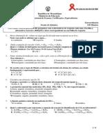 Enunciado Quimica Extraord. 12ªclas 2014