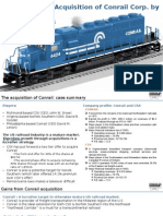 Conrail Case Solution_Group 8