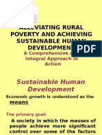 Alleviating Rural Poverty and Achieving Sustainable Human Development