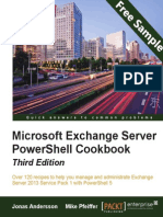Microsoft Exchange Server PowerShell Cookbook - Third Edition - Sample Chapter