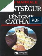 Jean Markale - Montsegur et l'enigme cathare.epub