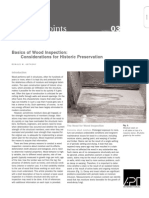 Basics of Wood Inspection