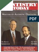 Masters of Aesthetic Dentistry Dentistry Today 1991 REGdag (2)