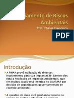 Aula 6 - Gerenciamento de Riscos Ambientais (2).ppt