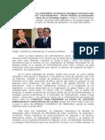 URIBE Y CHAVEZ Se Enfrentan Por El Comercio Bilateral Felipe Torrealba