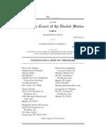 US v Davis Cert Petition