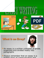 Presentation on EASSY WRITING
