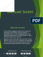 Multicast Socket