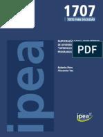 Participação Social Como Método de Governo Ipea