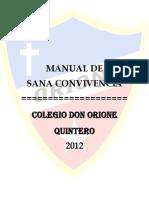 Manual de Convivencia Oficial 2013