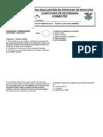 3° EVALUACIÓN DE BIOLOGÍA IIIBIM2014