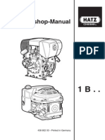 Hatz 1B Workshop Manual