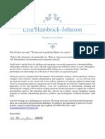 HR Director Recruiting Manager in Nashville TN Resume Lisa Hambrick-Johnson
