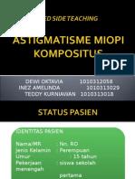 BED SIDE TEACHING slide astigmatisme miop komposius.ppt