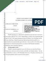 Corelleone v. State of California et al - Document No. 4