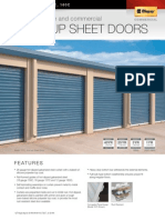 Clopay 150C_ 157C_ 160C Roll Up Sheet Doors
