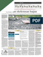 El Comercio - 24-07-2015 - Con las Defensas Bajas hacia los desastres naturales.pdf