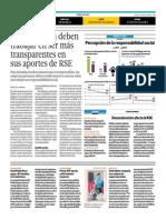 El Comercio - 23-07-2015 - Empresas aún deben trabajar en ser más tranaparentes en sus aportes RSE (Anuario COrresponsables).pdf