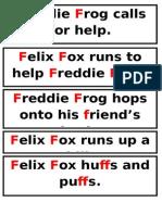 Story - Felix Fox and Fredo Frog