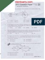 Apgenco Ae Mechanical 2012 Paper