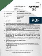 TUEV 09 ATEX 555232 -- En -- 01 Bescheinigung Komplett