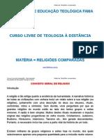RELIGIOES COMPARADAS