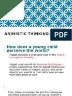 Animistic Thinking