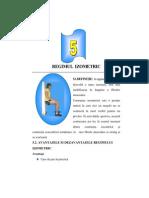 Izometrie Regimul Izometric