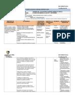 Modelo Planificación 3 Matematica