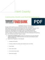 Tarrant County Anti Hunger Resources Wic Supplemental Nutrition