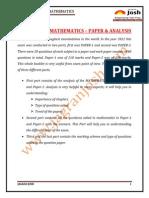 Education News IITJEE 2012 Mathematics