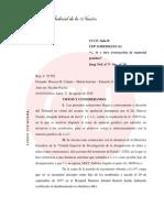 La Cámara Federal declaró la inconstitucionalidad del régimen de subrogancias de jueces