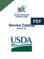 NITC Service Catalog
