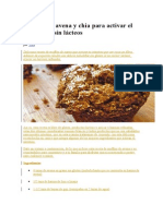Muffins de Avena y Chia Para Activar El Intestino