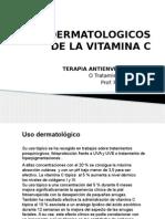 Usos Dermatologicos de La Vitamina c