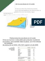 Situación de La Acuicultura en El Mundo