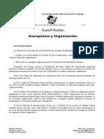 Rudol Anarquismo y Organizacion