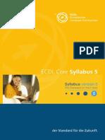 Syllabus5 Core