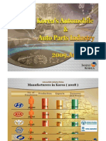 Korea's Automobile & Auto Parts Industry 2009