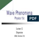 Lecture12(Dispersion)