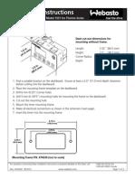 7-Day Digital Timer Model 1531 Comfort - Installation