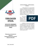 02 Estatuto Organico Juventud Radical de Chile 2012