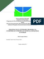 Projeto Mestrado JORIMAGINAÇÃO E ATIVIDADE CRIADORA NA COMPOSIÇÃO E PRODUÇÃO MUSICAL DE BANDAS AUTORAISNADA Final