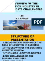An Overview of the Logistics Industry in India