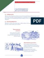 OPERACION Y MANTENIMIENTO SISTEMAS RURALES