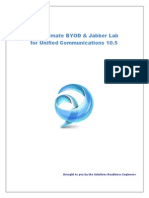 Ultimate Jabber Deploy Lab for UC10 5 LabGuideVersion 8 9 1
