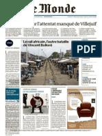 Le Monde Du Mardi 04 Aout 2015
