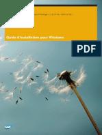 Guide d'Installation Pour Windows