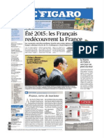 Le Figaro - Lundi 03 Aout 2015