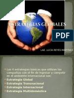ESTRATEGIAS GLOBALES
